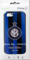 Inter Milan FC Soccer Cell Phone Hard Case Cover for Apple iPhone 5 With Packing