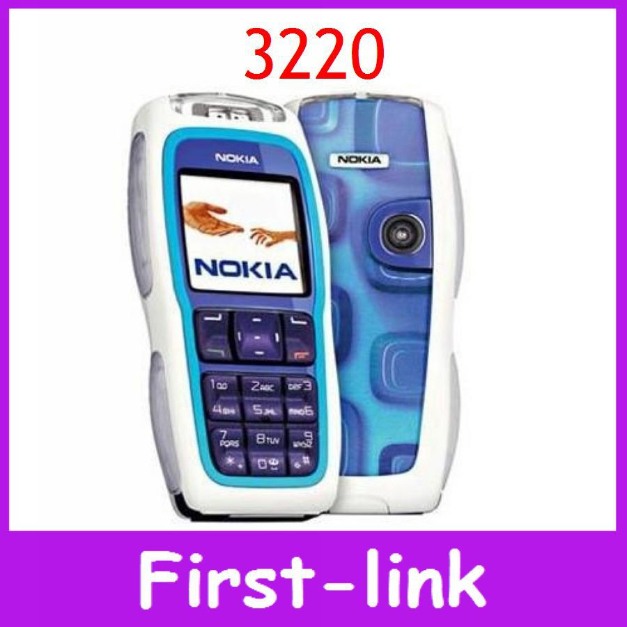 original Nokia 3220 Cell Phone Fast Free Shipping Mobile phone for old people(China (Mainland))