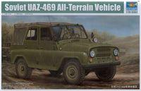 Trumpeter model 02327 1/35 Soviet UAZ-469 All-Terrain Vehicle plastic model kit
