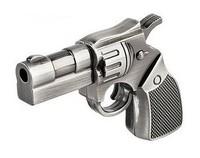 4-32GB New Arrival Cute Metal Revolver Gun USB 2 0 Memory Stick Flash Drive