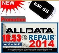 2013 ALLDATA 10.52 + Mitchell 2012+Boossch3+ VIVID WORKSHOP+BOOSSCH ESI etc software 7in1 640G HDD Free shipping