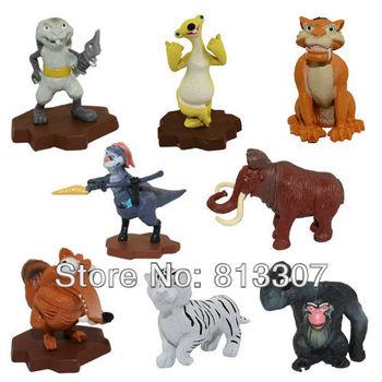 ice Age 3 Figures Figure 8pcs/set 3-8cm ICE AGE 4 toy pvc figures
