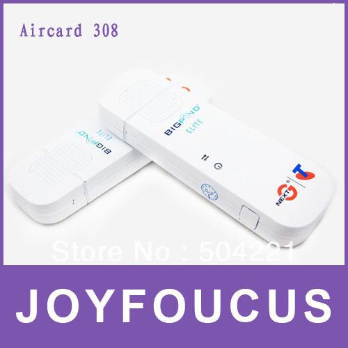 10 piece Hong Kong Free Sample  aircard 308 wireless 3g modem