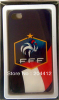 France Soccer Mobile Cell Phone Hard Case Cover for iPhone 4 4s With Packing