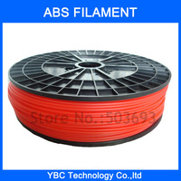1.75mm Red 3D Printer ABS Filament 1kg for MakerBot, RepRap and UP