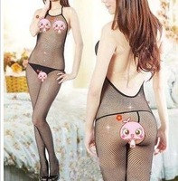 Women's sexy transparent bodysuit mesh clothing sexy sleepwear set i4008,free shipping