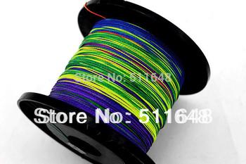 Free Shipping 2013 High Power Best Quality 300M PE Multicolor Braid Fishing Lines 10-80LB