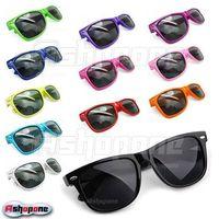 Fashion Retro Vintage Unisex Wayfarer Trendy Cool Sunglasses 12 Colors