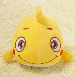 cute big eye yellow cartoon movie figure soft fish finding nemo plush toy doll gift for baby girl educational bedding decor(China (Mainland))