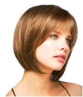 2013                  fashion Sexy Beautiful Fashion light brown color Wig wigs Free shipping