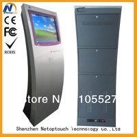 Payment terminal kiosk with card reader