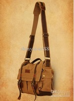 DSLR SLR Camera Canvas shoulder bag BBK-3 for Sony Canon Nikon Olympus Backpacker M size
