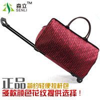 Trolley luggage bag vintage fashion trolley luggage male Women waterproof portable travel bag light luggage FREE SHIPPING