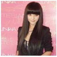 2013    New pretty fashion straight wig/wigs Free shipping