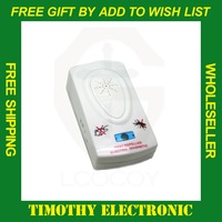 Free shipping Electronic Helminthes Machine Repellent Mosquitoes Pest US PLUG 1PC #EC022
