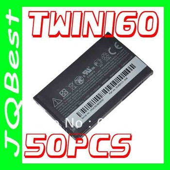 50pcs High quality TWIN160 BA S380 Battery For HTC cell Phone A6288 G3 Hero 100 130 200 G2 Touch A6262 A6263