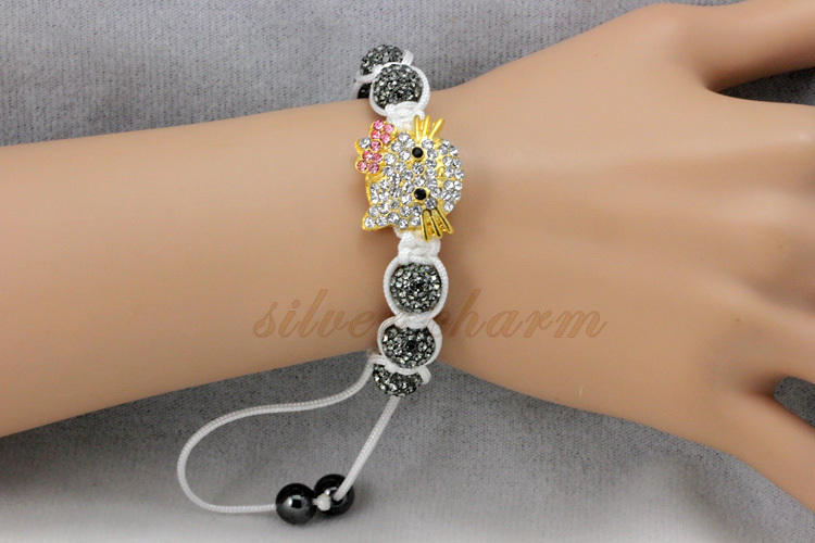 Free shipping!Mix order Evil Eye Shamballa Bracelets Beads Bracelet Jewelry Wholesale For Woman Best Gift for friends(China (Mainland))