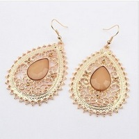Min.order is $5 (mix order),Free Shipping exaggerated hollow Drop Earrings, (92613)