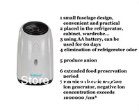 NEW Air filter Negative ion air purifier air freshener in addition to flavor agent refrigerator in addition to taste