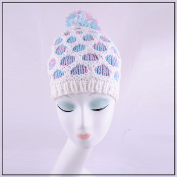 Free shipping. 2012 autumn and winter popular charm knitted hat fashion thermal knitted millinery