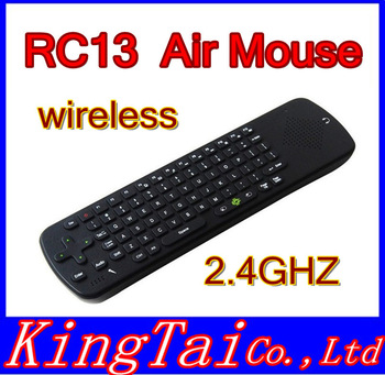 RC13 2.4G Wireless keyboard Mouse with Speaker and Microphone 1PC China Post Free Shipping