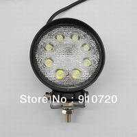 "2PCs CDD03-30D 30"" 8*3w High Intensity Epsitar LEDs DC 10-30V 6000K Truck/ Atv/ Car/ Suv Waterproof Car Work Light Mail Free"