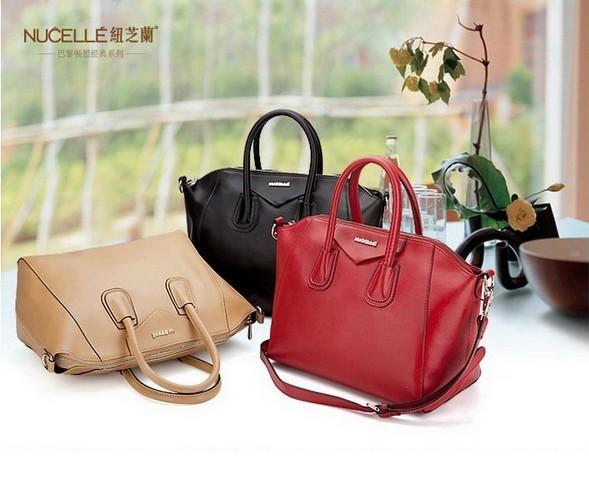 GRACE HANDBAG/REAL LEATHER BAG woman's handbag ladies fashion bag genuine leather handbag(China (Mainland))