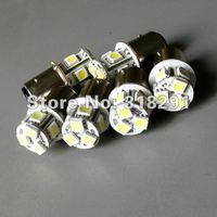 Free shipping T20/7440 W21W 8SMD -5050 LED car bulb turn signal light 1156 ba15s car light 200pcs/lot
