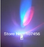 100pcs 3mm RGB 7 color Slow flash LED light-emitting diode (LED) New  free shipping