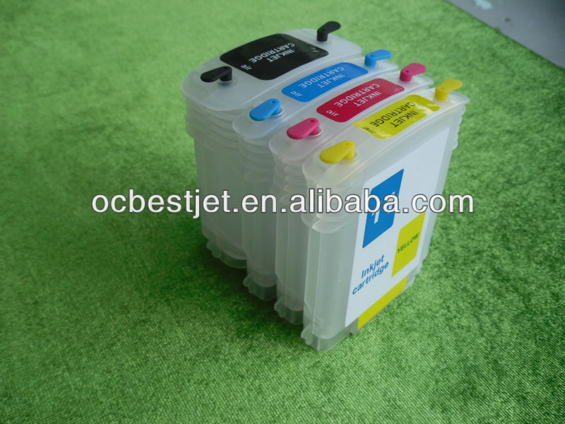 5sets*4pcs empty refilling ink cartridge for HP10 HP11 c4844a c4836a c4837a c4838a(China (Mainland))