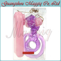 Maggiq-141 Wholesale Double Rings Vibrating Cock Ring Delay Rings Cockring Sex Toys Sex Products Adult Toys For Man