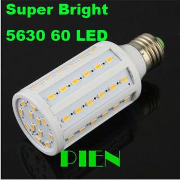 Hot sale 12W 5630 SMD LED Corn Bulb 60 LED Light E27| E14  Lamp 220V Warm| Cool white Suer Brightness Free Shipping 1pcs/lot