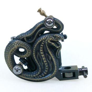 Winding Snake 8 Wrap Coil Dual-coiled Tattoo Machine gun Shaderand Liner tattoos equipment free shipping - wholesale