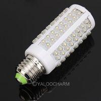 Free Shipping Wholesale E27 7W 108SMD LEDs Spot Corn Light Lamp Bulb White 220V 80189