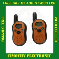 Free Shipping Retail Wireless 2-Way Radio Intercom interphone Kit,Walkie Talkie  1 pair