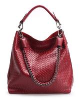 Free shipping handbags, genuine leather handbags for women, hobo handbags in wine red, blue, black, yellow