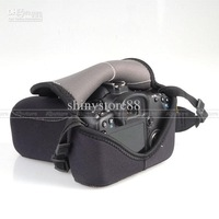 SLR Camera Cover soft Case Bag M for Canon 550D 7D Nikon D90 D80 fit all similar camera AP-C2A
