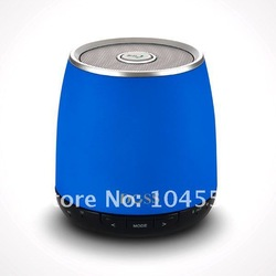 Blue New Wireless Bluetooth TF Card Speaker,DOSS DS-1188 for many via Bluetooth products drop shipping(China (Mainland))