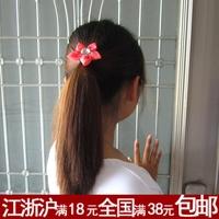 Accessories elegant small fresh flower headband hair rope c34