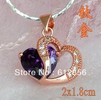 Lovers key titanium alloy pendant valentine's day hourglass necklace! / titanium cross Bible pendant necklace for women