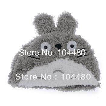 brand new kids adult autumn winter skullies totoro cat cartoon plush beanies,best christmas gift for children girls retail