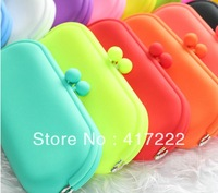Free shipping!BEST SELLING Waterproof silicone eyeglasses sunglasses pouch soft eyeglasses bag glasses case multicolor available