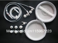 10 pcs/lot High Quality Headphones.MP3 MP4 DJ In-ear Earphone Headset with 6 ear buds and carry case