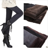 New arrivals Women's Under Pants Ladies' Leisure Pencil Slim Elastic Tights Trousers warm basic panties free shipping LJ1266