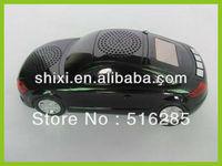 hot sale car shape mini speaker with TF card