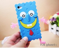 Hot sale !30 pcs/lot Free shipping  silicon case for iphone 5/4/4S,cute case for iphone 4 4G 4S