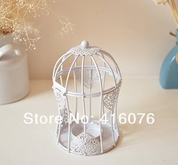 2013 New European Style Wedding Candle Holder Romantic Feelings Iron Lantern Wedding Gift(China (Mainland))
