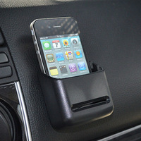 Multi purpose paste type car glove box car phone holder glasses miscellaneously storage box Free shipping