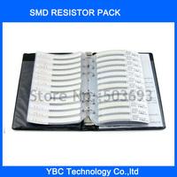 0402 SMD Resistor Sample Book 170 values X 50pcs=8500pcs YAGEO RC0402 JR-07
