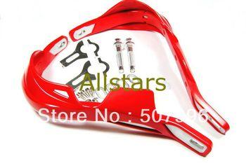 One Set Red Fat Bar handguards Hand Brush Guards Raptor 7/8'' 21mm mounting Kit PRO TAPER Motorcycle Dirt Bike MX handlebar